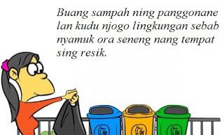 Contoh Iklan Bahasa Jawa Tema Keresikan (menjaga kebersihan)