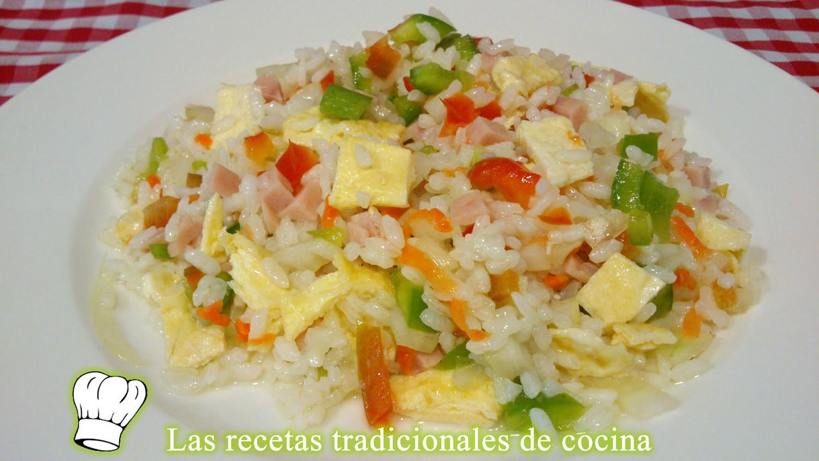 Receta de ensalada de arroz recetas de cocina con sabor - Ensalada de arroz light ...