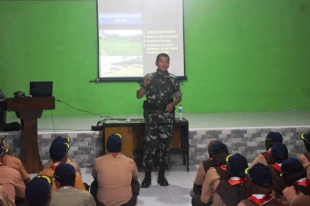 PPG SM-3T Unsyiah Laksanakan KMD (Pramuka) di Krueng Jreu