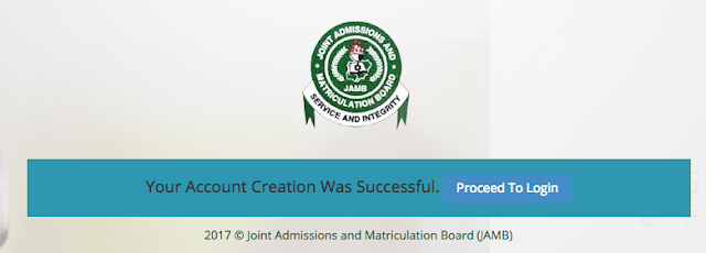 How to Create JAMB Profile Graphically