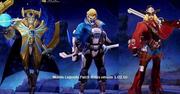 Mobile Legends Patch Notes V 1.02.10