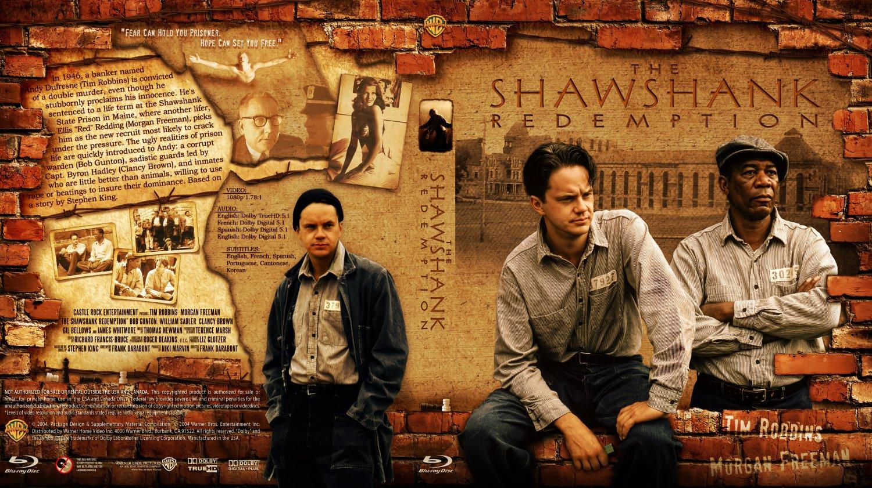 Nội dung phim Nhà tù Shawshank: Andy Dufresne ( Tim Robbins ) là một nhân viên ngân hàng bị buộc tội giết vợ và người tình của vợ.