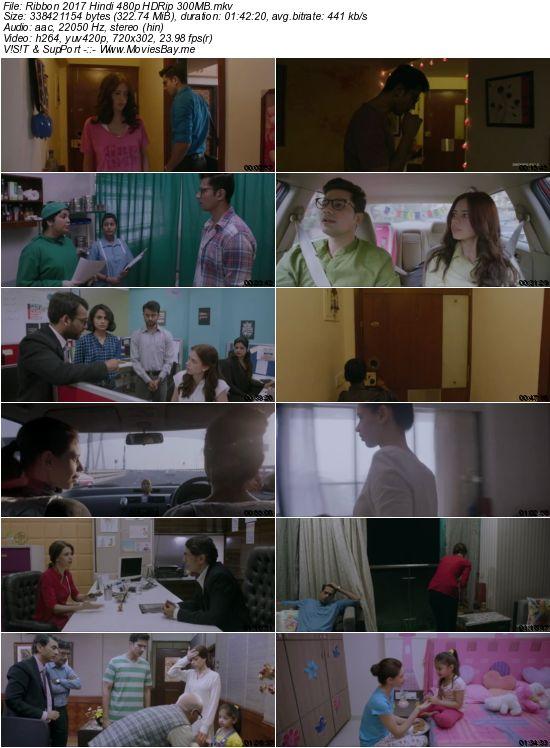 Ribbon 2017 Hindi 480p HDRip 300MB worldfree4u