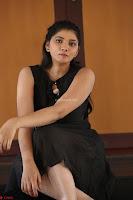 Khanishka new telugu actress in Black Dress Spicy Pics 18.JPG