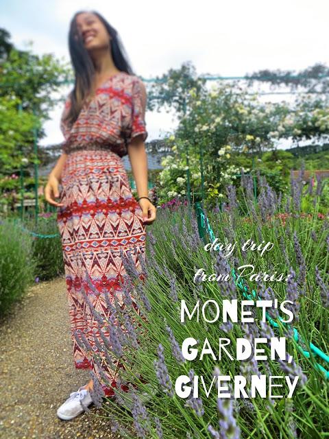 Monet's Garden, Clos Normand. Lavender