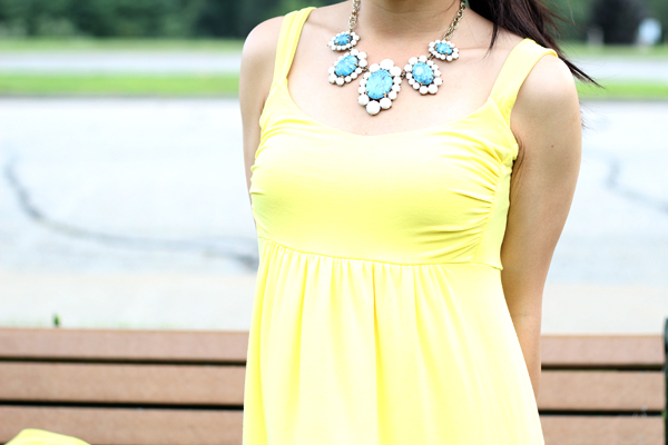 Yellow Maxi Dress : Take I