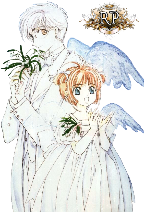 Render - Sakura y Yukito - Sakura, cazadora de cartas