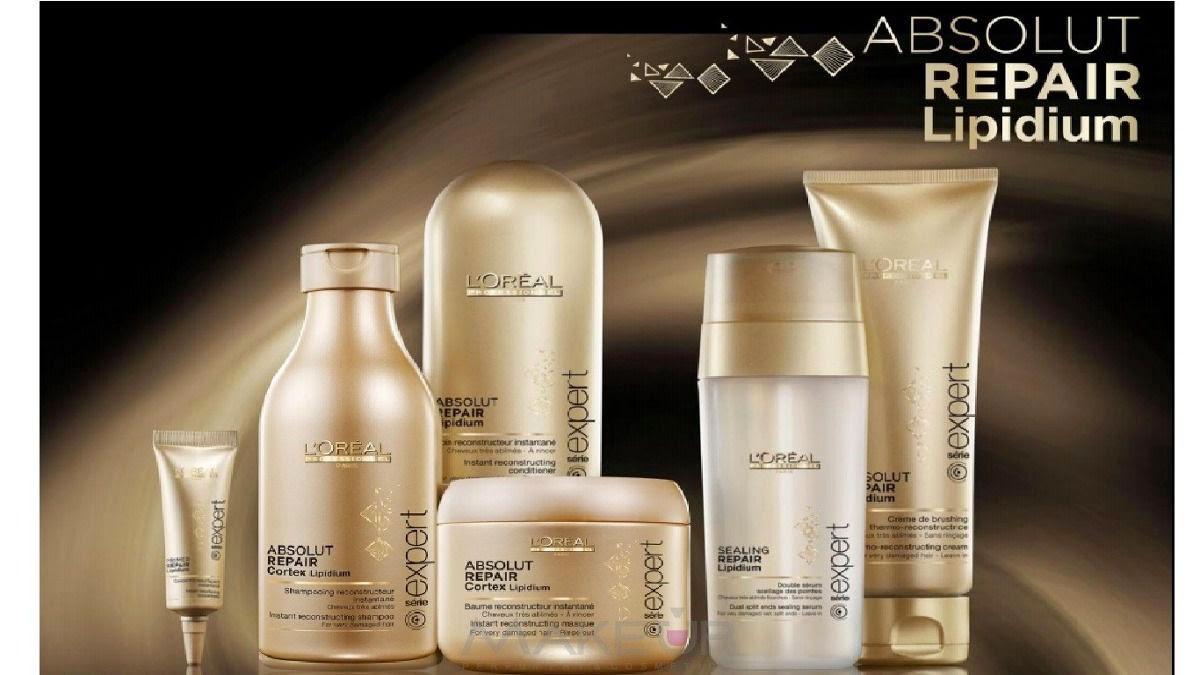 496f693d8 Loréal Absolut Repair Lipidium | Cuidado del cabello - bellocapello