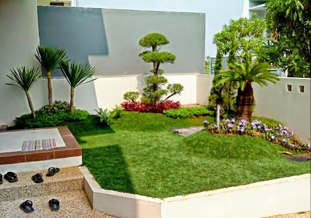 Taman Depan Rumah Minimalis Untuk Lahan Sempit Terbaru