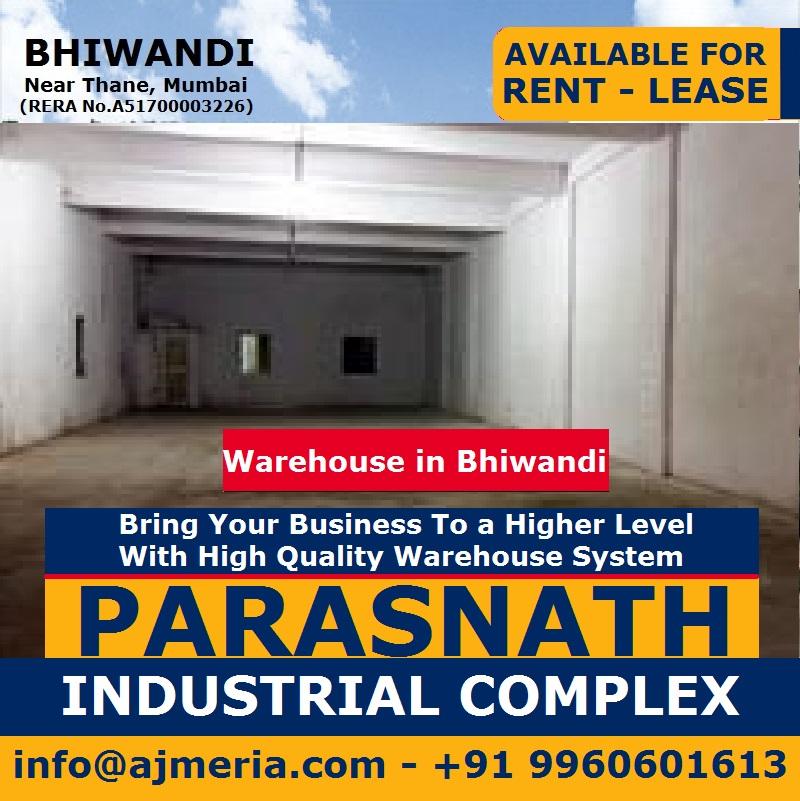 ... पर पट्टे के लिए लॉजिस्टिक दापोडा भिवंडी,Parasnath Industrial Complex  Warehouse For Rent Lease Logistic Dapoda Bhiwandi