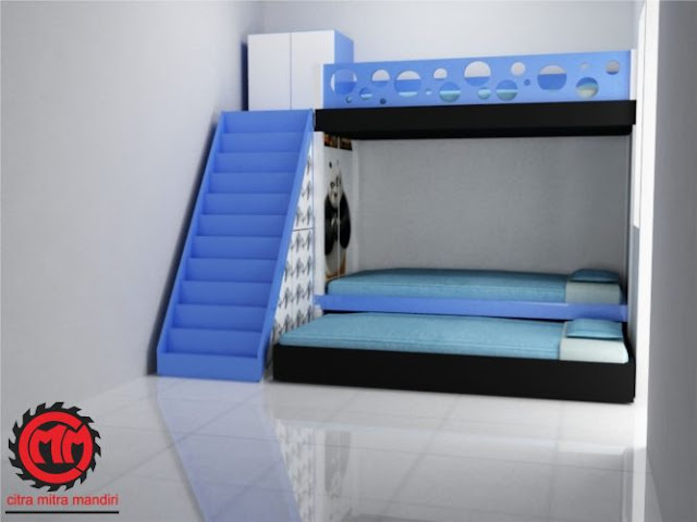 Desain Kamar Tidur Minimalis Ukuran 2x2