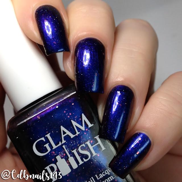 Glam Polish-Dark Wings, Dark Words