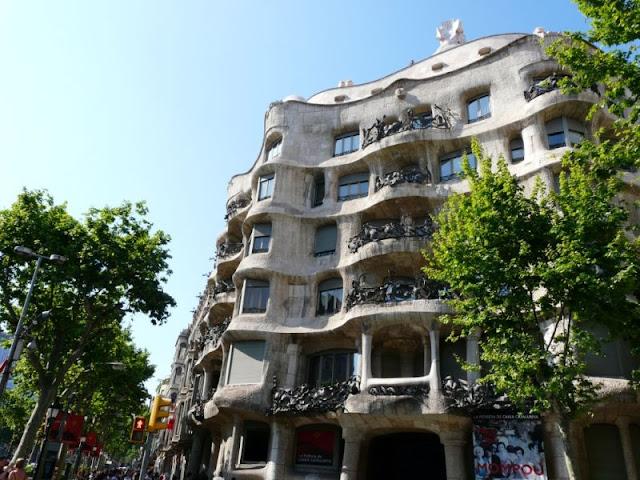 Casa Mila wBarcelonie