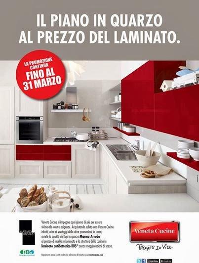 Piano In Quarzo Veneta Cucine.Veneta Cucine Milano Lissone Il Piano In Quarzo Al Prezzo Del