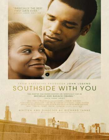 Poster Of Southside with You 2016 English 700MB HDCAM x264 Free Download Watch Online downloadhub.net