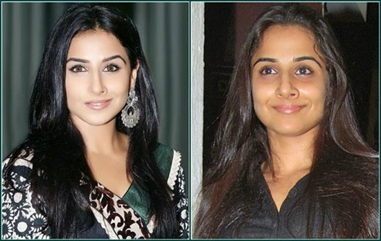 Vidya Balan without Makeup