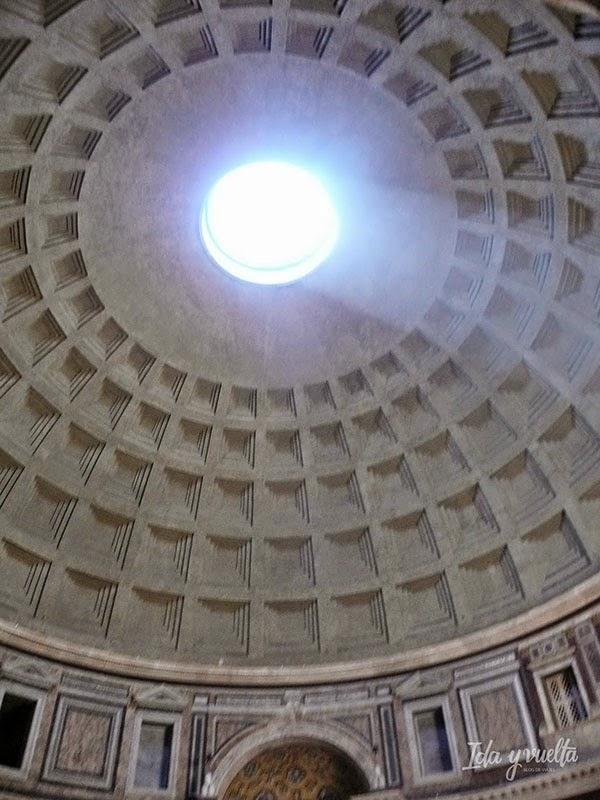 La cúpula por dentro