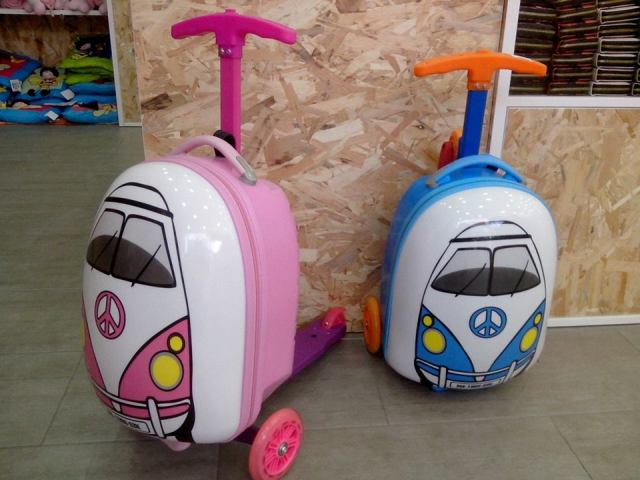 Trolley Infantil Monopatín Superskunk