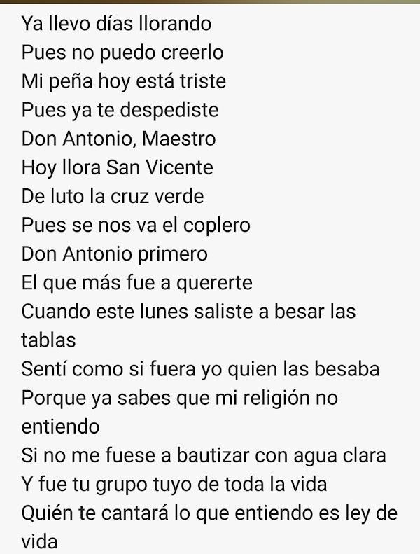 """Letra inedia """"Pa religion la mia"""""""