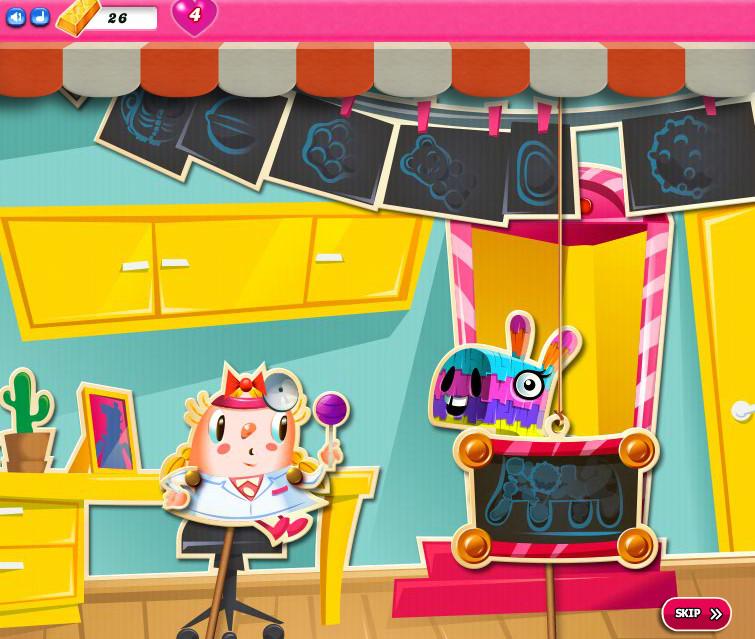 Candy Crush Saga level 2361-2375
