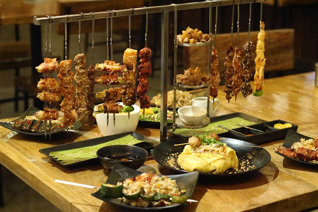 Savor Asian Spices at Skewered
