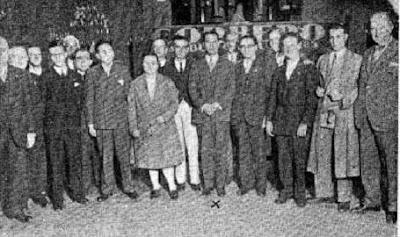 Foto de los ajedrecistas participantes en el Torneo Internacional de Ajedrez Barcelona 1929