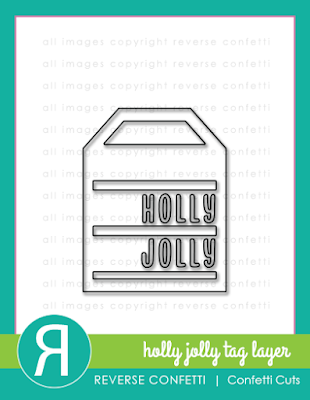 holly jolly tag layer