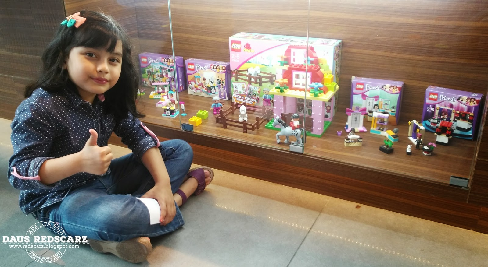 Daus Redscarz Lego Friends Live Legoland Malaysia Resort