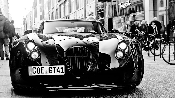Wallpaper: Wiesmann GT MF5