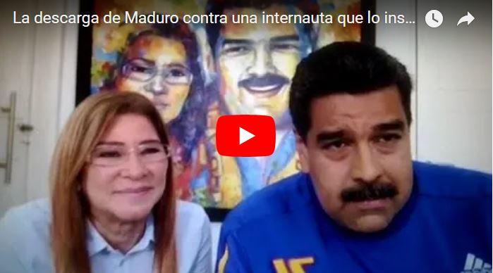 Vuelven a fregar a Maduro en vivo en el Facebook Live