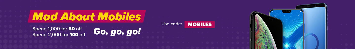 Up To AED 100 Off Mobiles