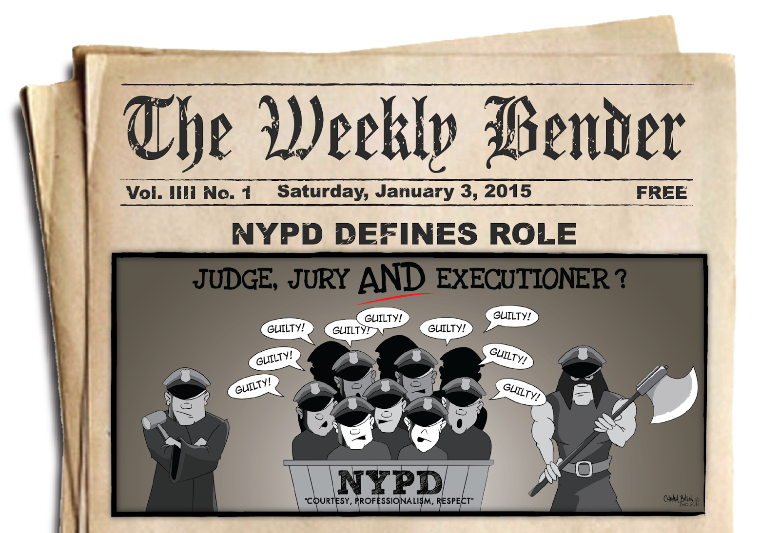 NYPD Defines Role as Judge, Jury & Executioner