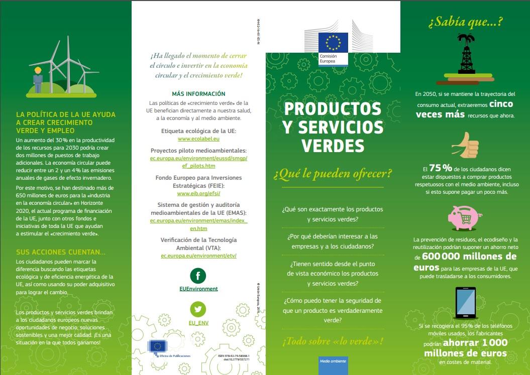 12c6af258b Europe Direct Región de Murcia: Productos y servicios verdes