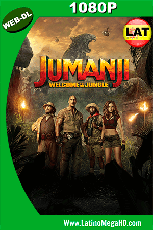 Jumanji: En la Selva (2017) Latino HD WEB-DL 1080P - 2017