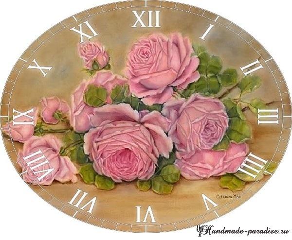 Циферблаты часов. 50 шаблонов для распечатки (7)
