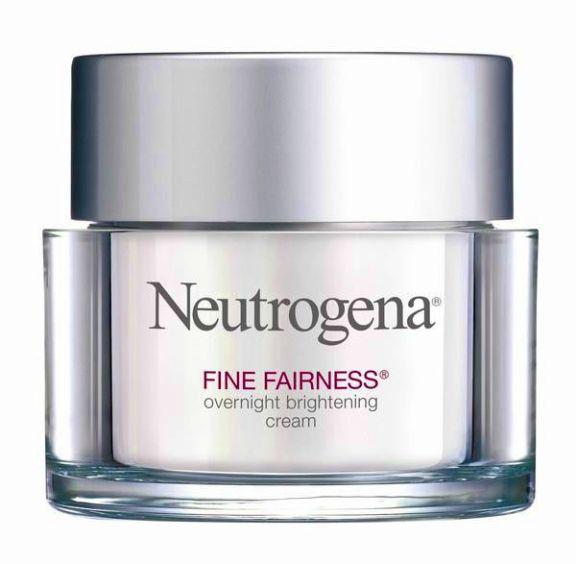 Neutrogena Overnight Brightening Cream Krim malam terbaik di drugstore