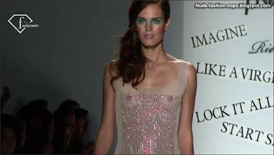 fashion model runway nudity