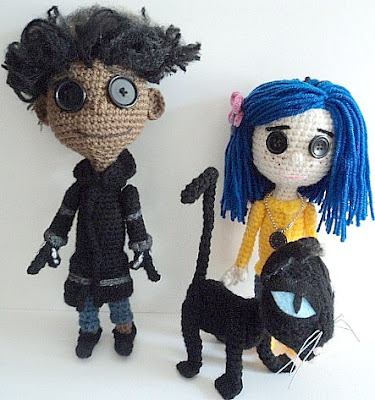 Ravelry: Ghost Child Doll Inspired by Coraline pattern by Sharon Ojala | 400x375