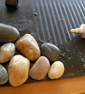 Como Fazer um Tapete com Pedras