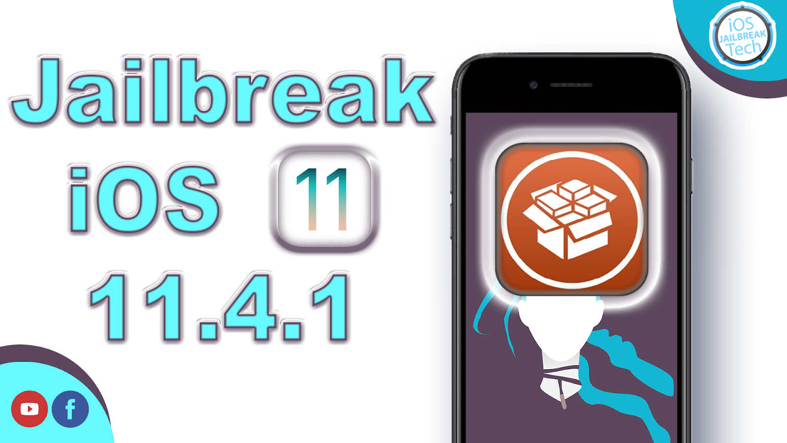How to Get Full Jailbreak and install Cydia iOS 11 4 1 For