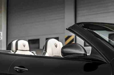 Side Photos of the Maserati GranCabrio Car