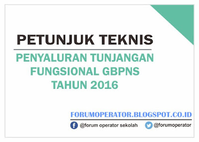 Juknis Tunjangan Fungsional STF-GBPNS di Lingkungan Kemenag Tahun 2016