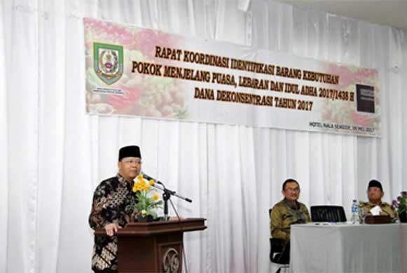 Bengkulu, DetikBengkulu.com, Disperindag Pastikan Stock & Distribusi Bahan Pokok Aman Jelang Ramadhan