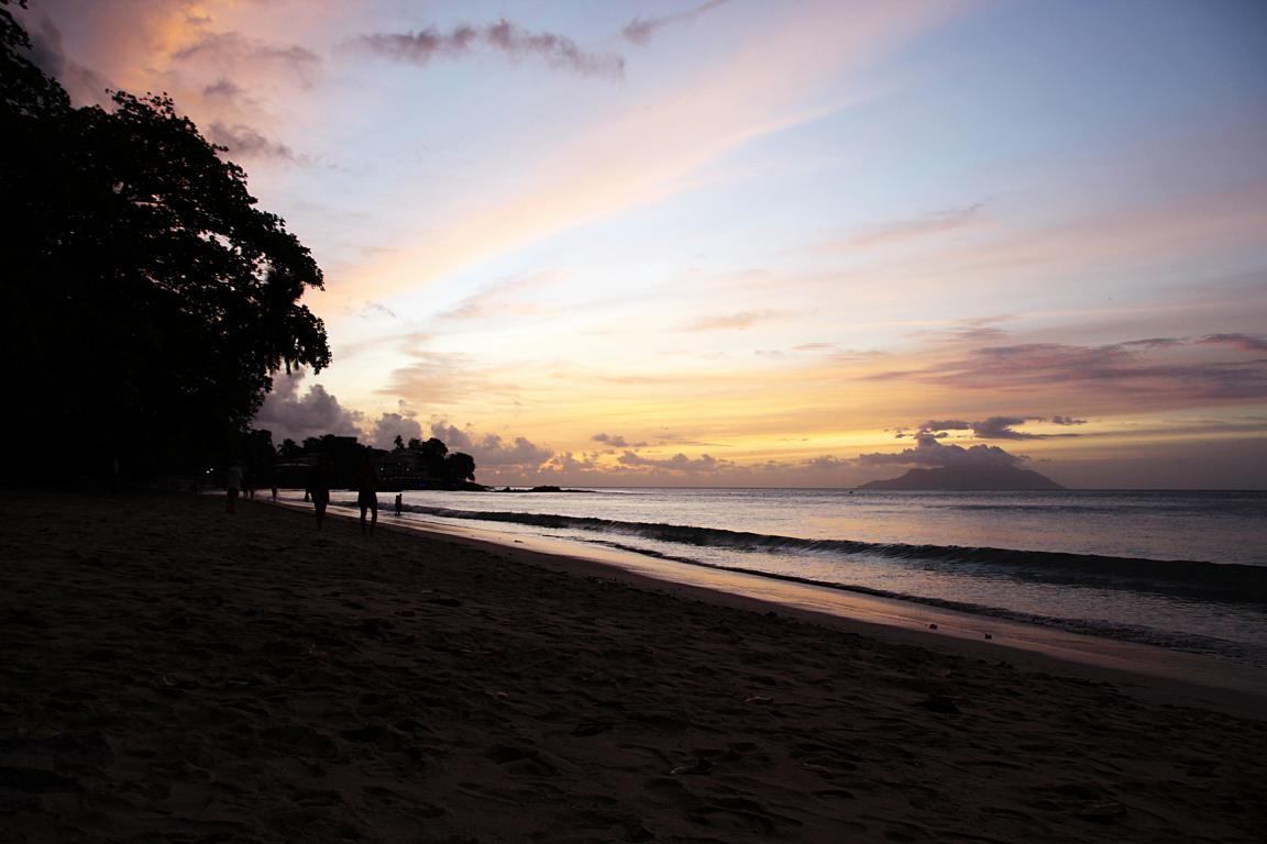 Sonnenuntergang auf Mahe