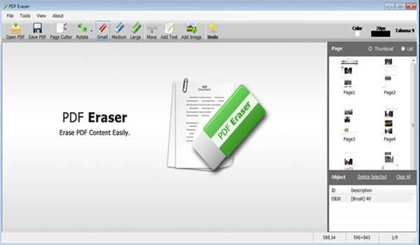 PDF Eraser Pro Portable Free Download