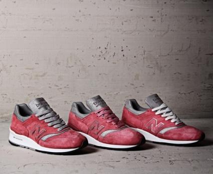 New Balance W997 primeiro tênis exclusivo para mulheres