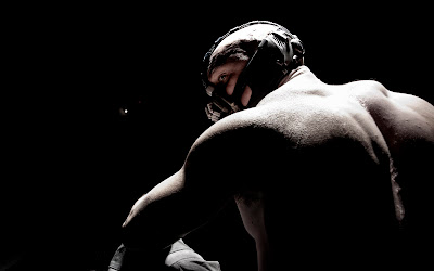 The Dark Knight Rises - Tom Hardy as Bane
