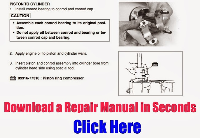 Download Yamaha Atv Repair Manuals Instantly How To Remove
