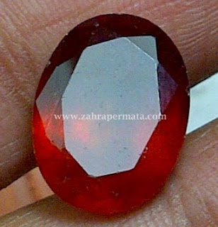 Batu Permata Red Garnet