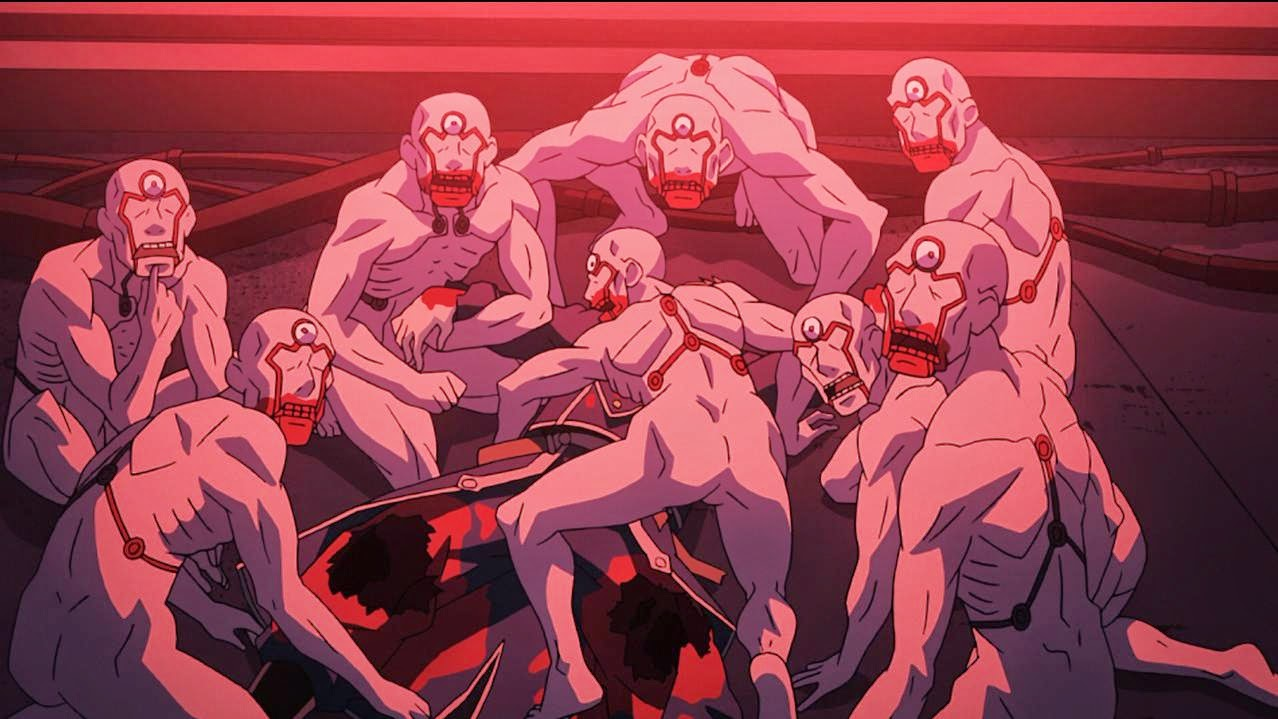 Full Metal Alchemist Brotherhood Maniquies carnívoros